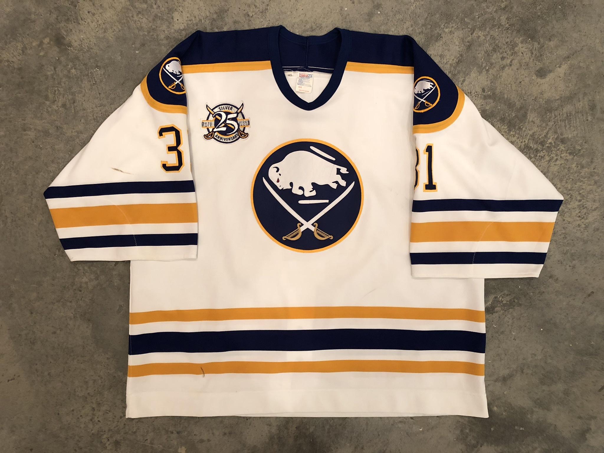 Grant Fuhr Buffalo Sabres Game Worn Jersey - 1988 Vezina Winner