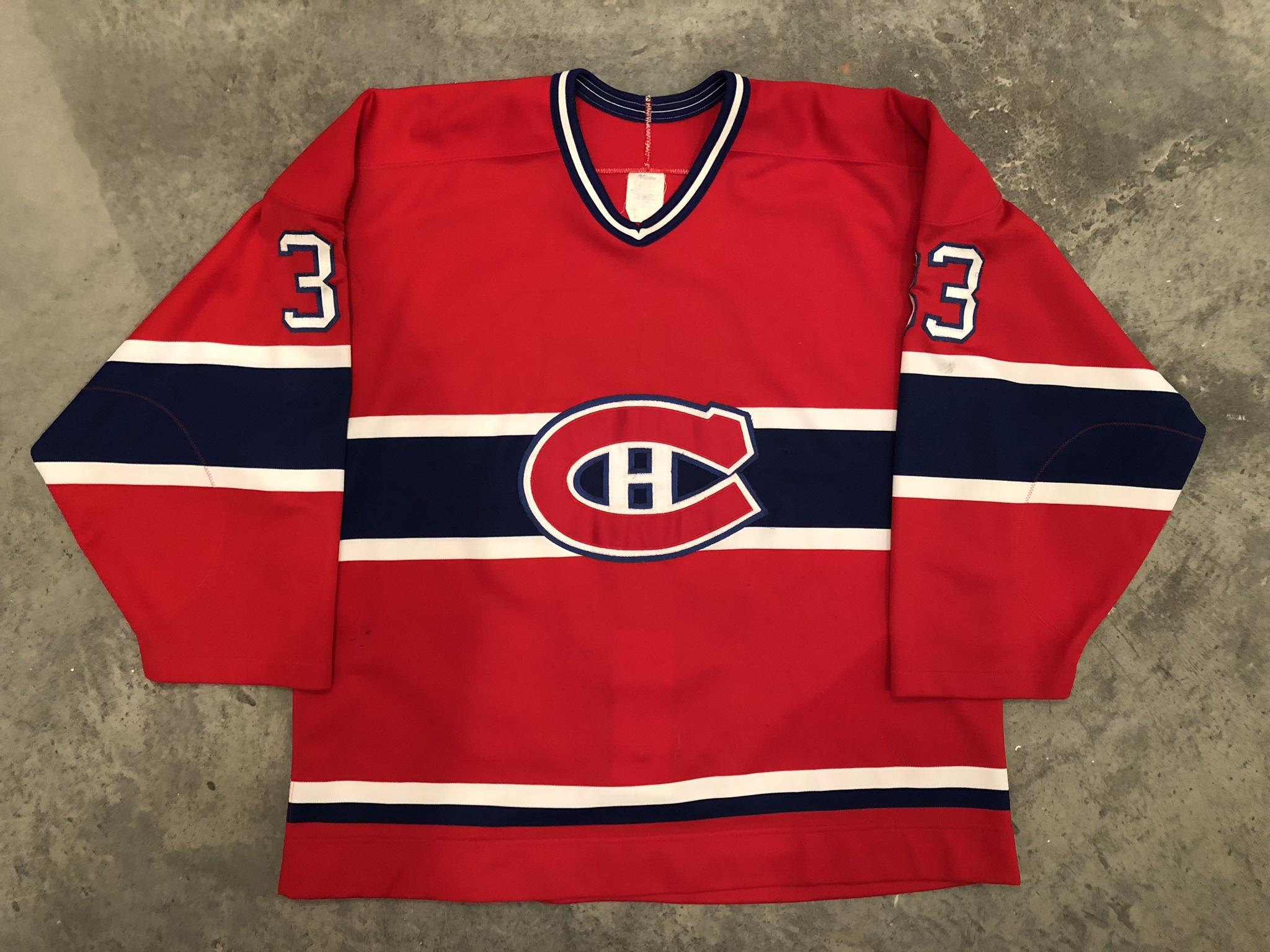 Patrick Roy Montreal Canadiens Game Worn Jersey - 1989, 1990 & 1992 Vezina Winner