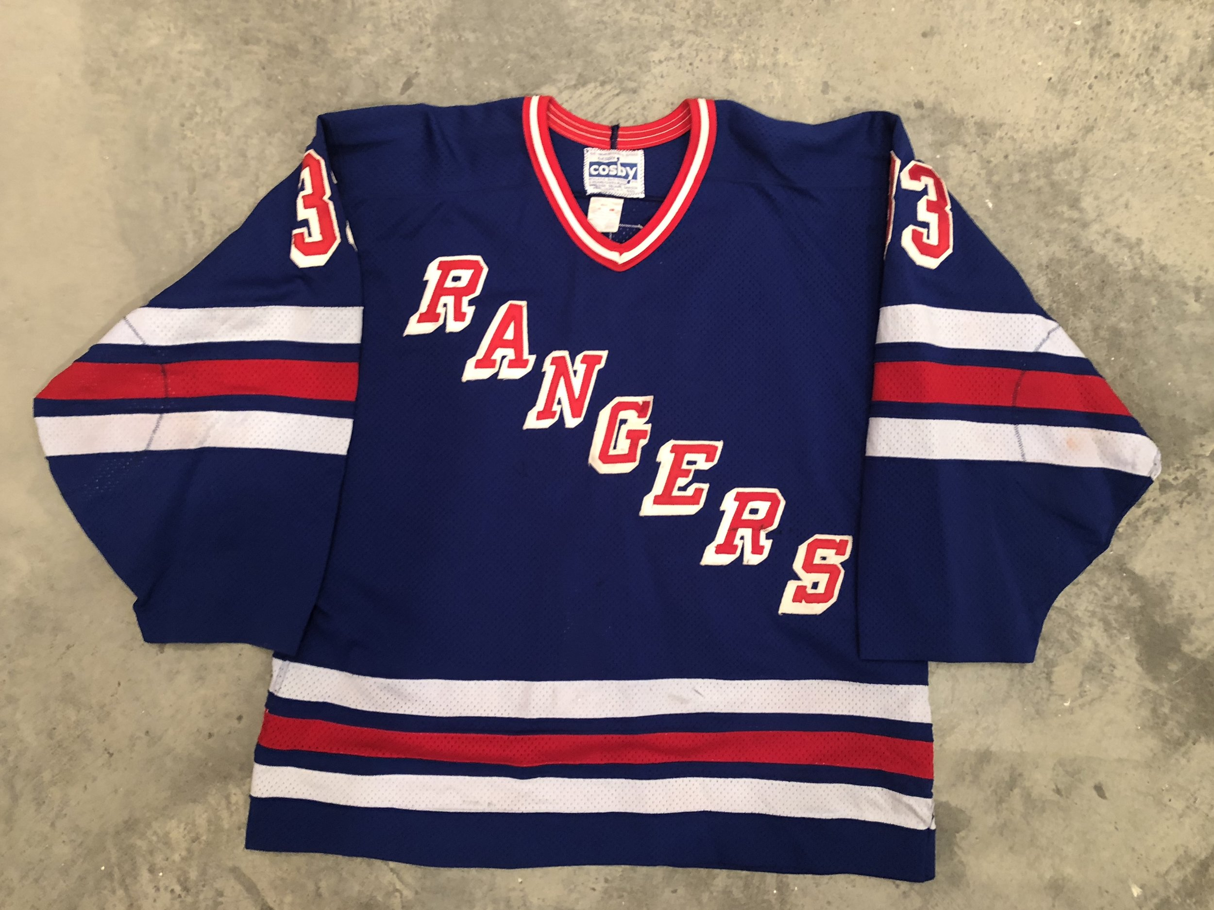 1988-89 Bob Froese Game Worn Road Jersey