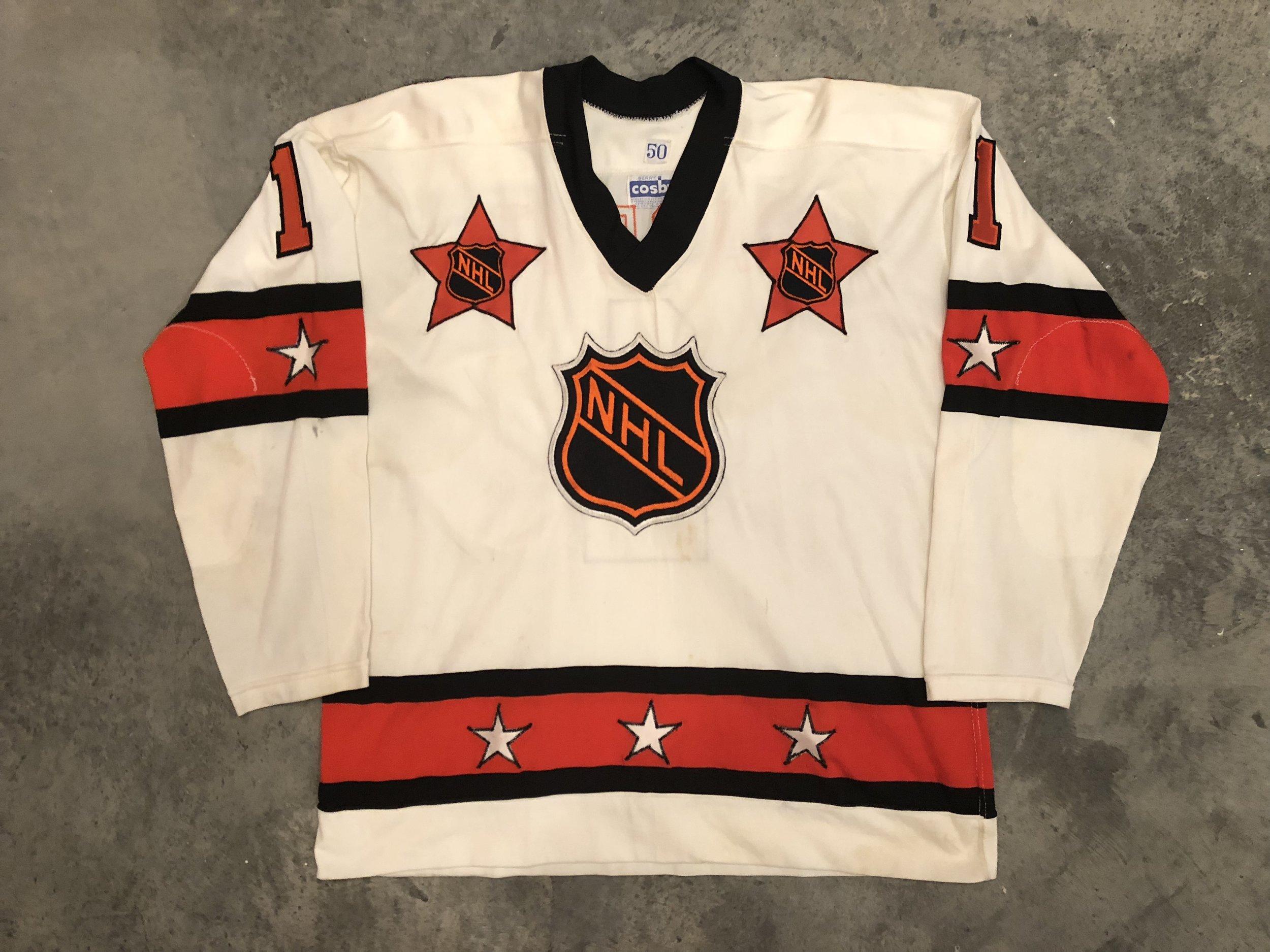 Bernie Parent NHL All Star Game Worn Jersey - 1974 & 1975 Vezina Winner