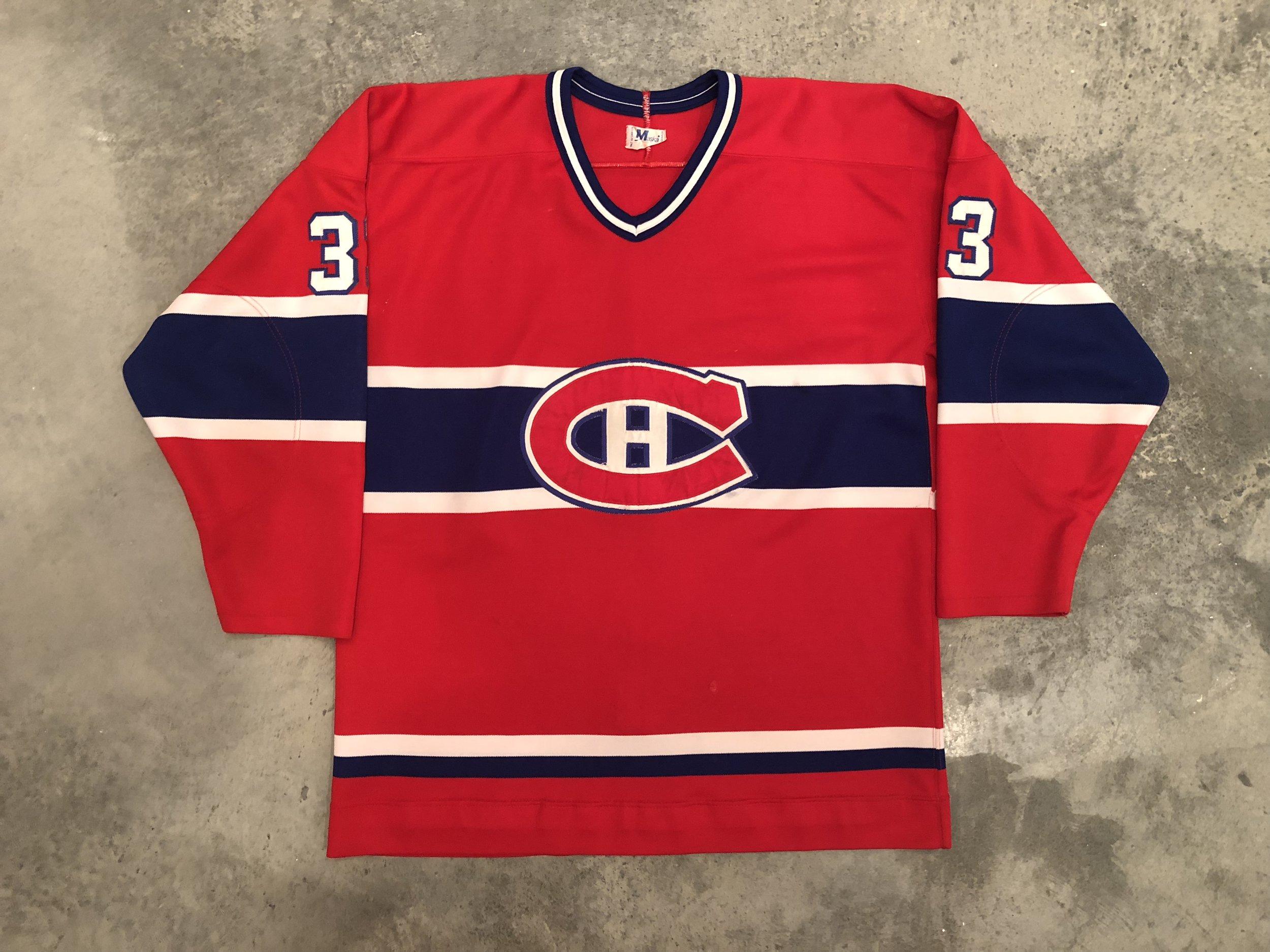 Richard Sevigny Montreal Canadiens Game Worn Jersey - 1981 Vezina Winner