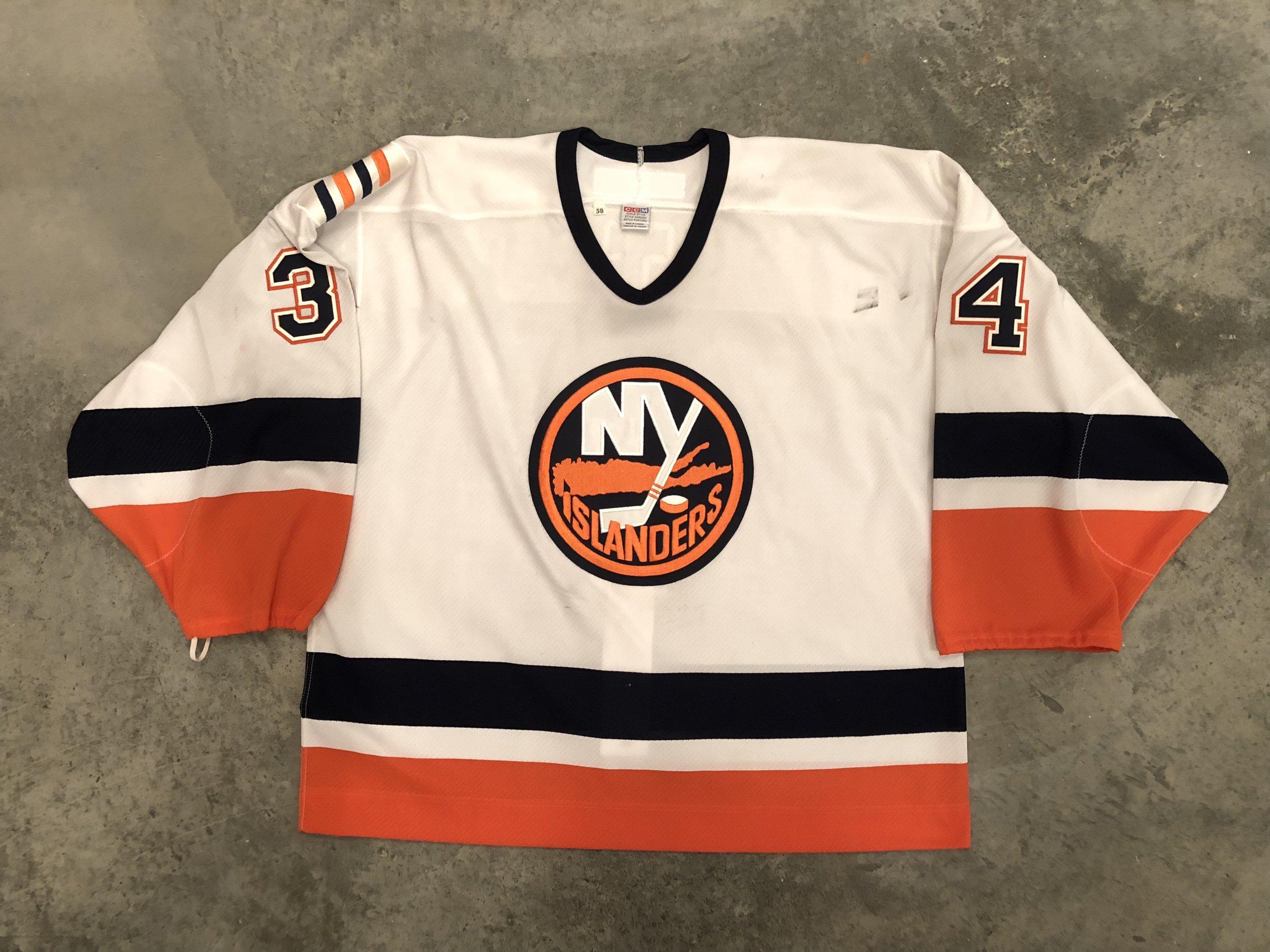 2000-01 New York Islanders game worn home jersey