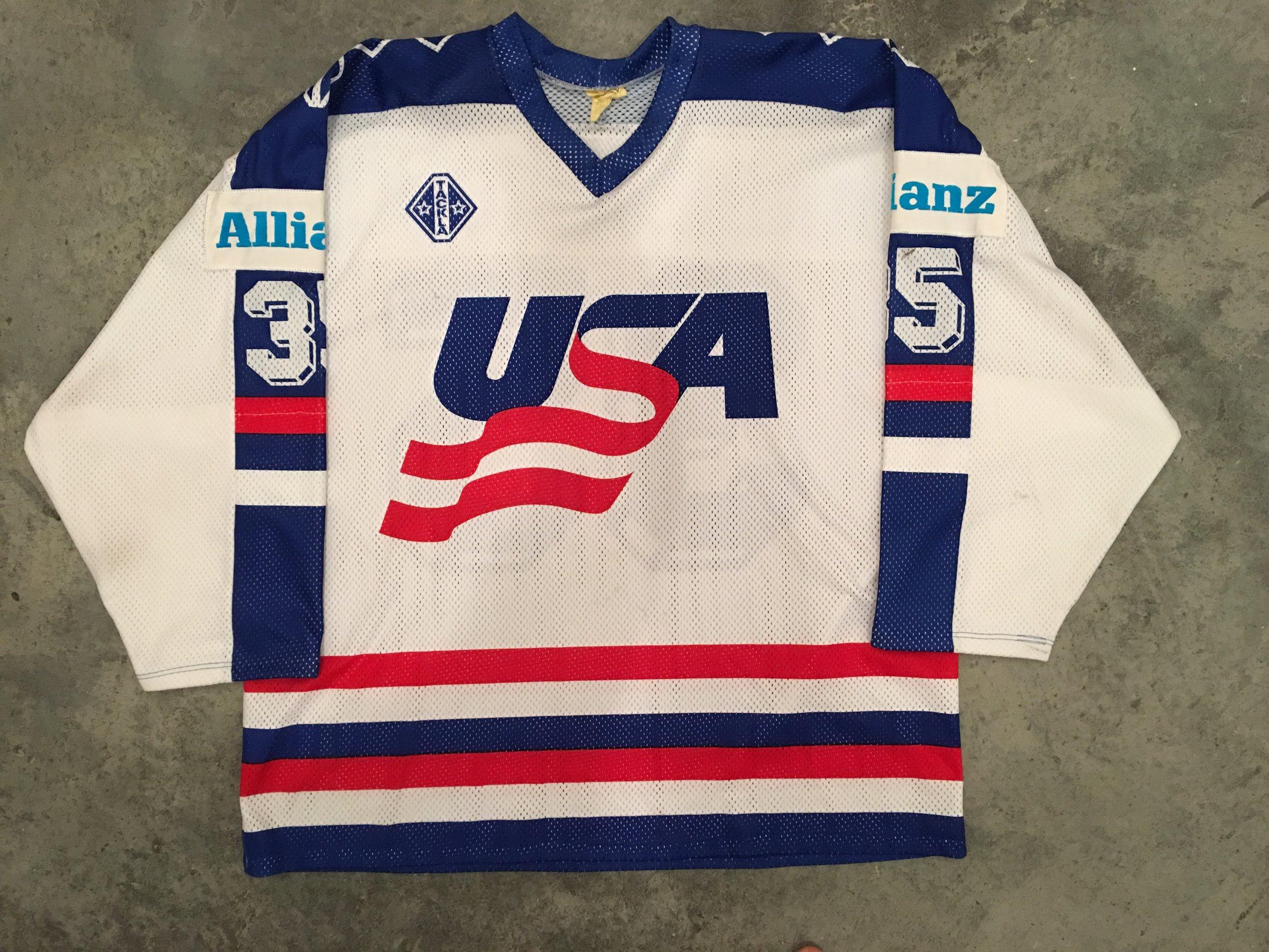 1991 World Championships Team USA game worn jersey