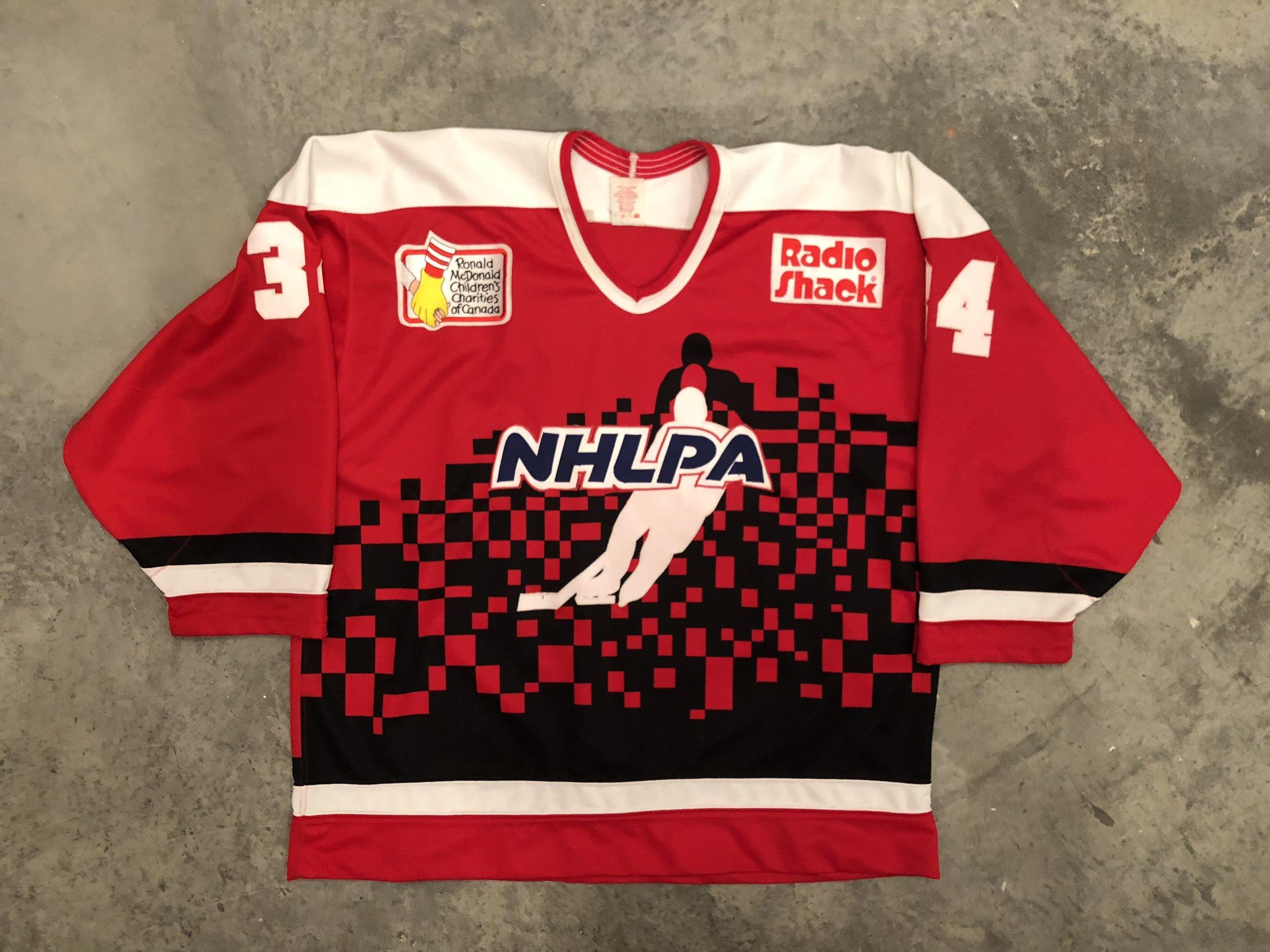 1995 NHLPA game worn jersey