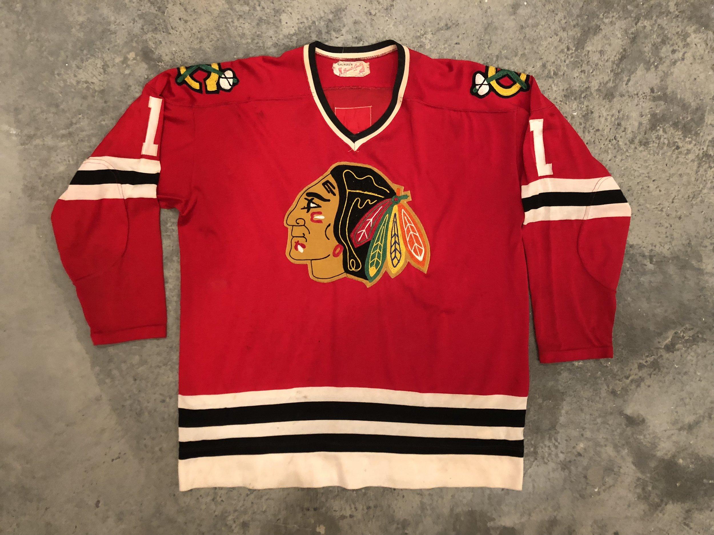 Glenn Hall Chicago Black Hawks Game Worn Jersey - 1963, 1967 & 1969 Vezina Winner