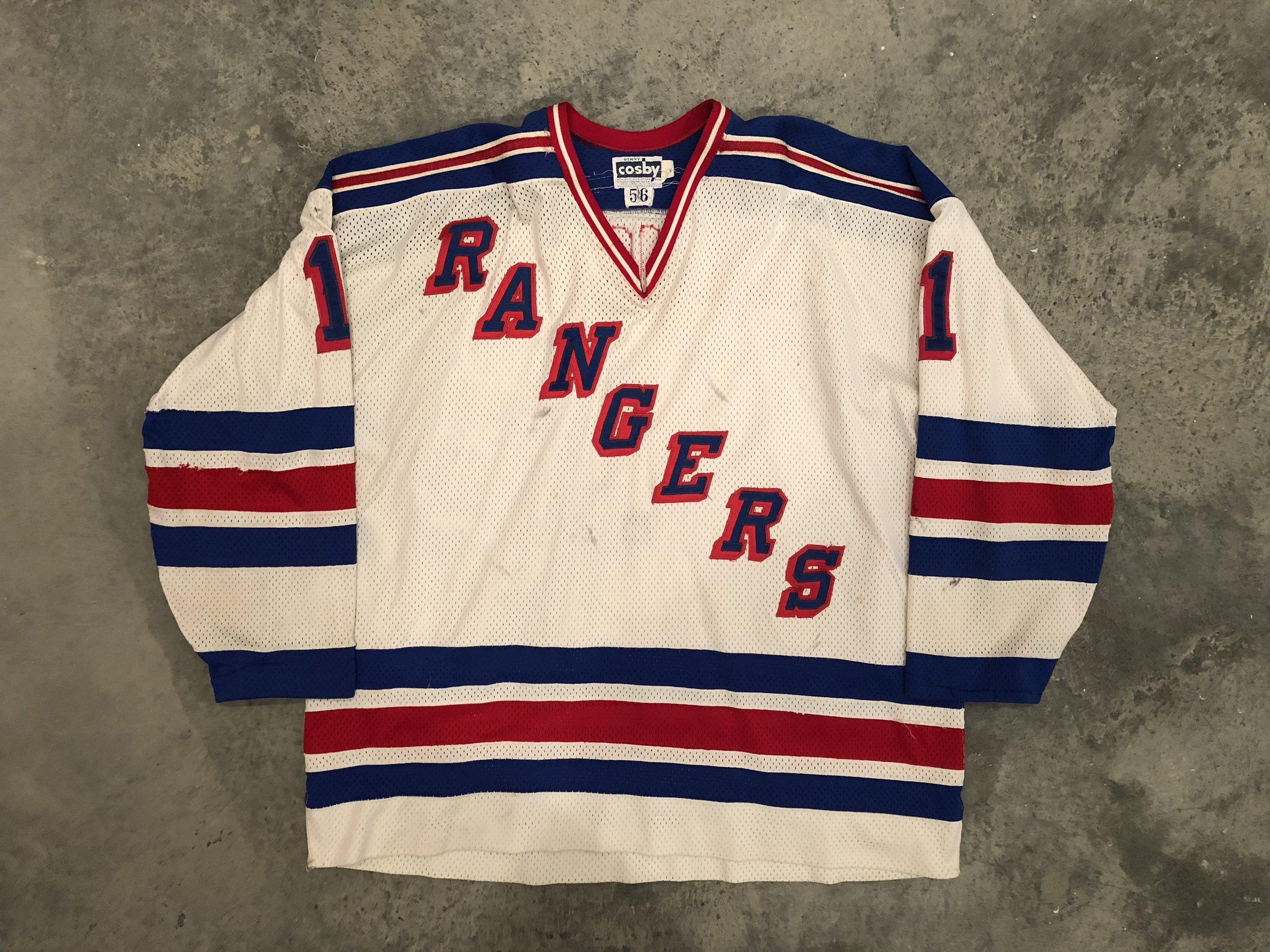 1982-83 Glen Hanlon Game Worn Home Jersey