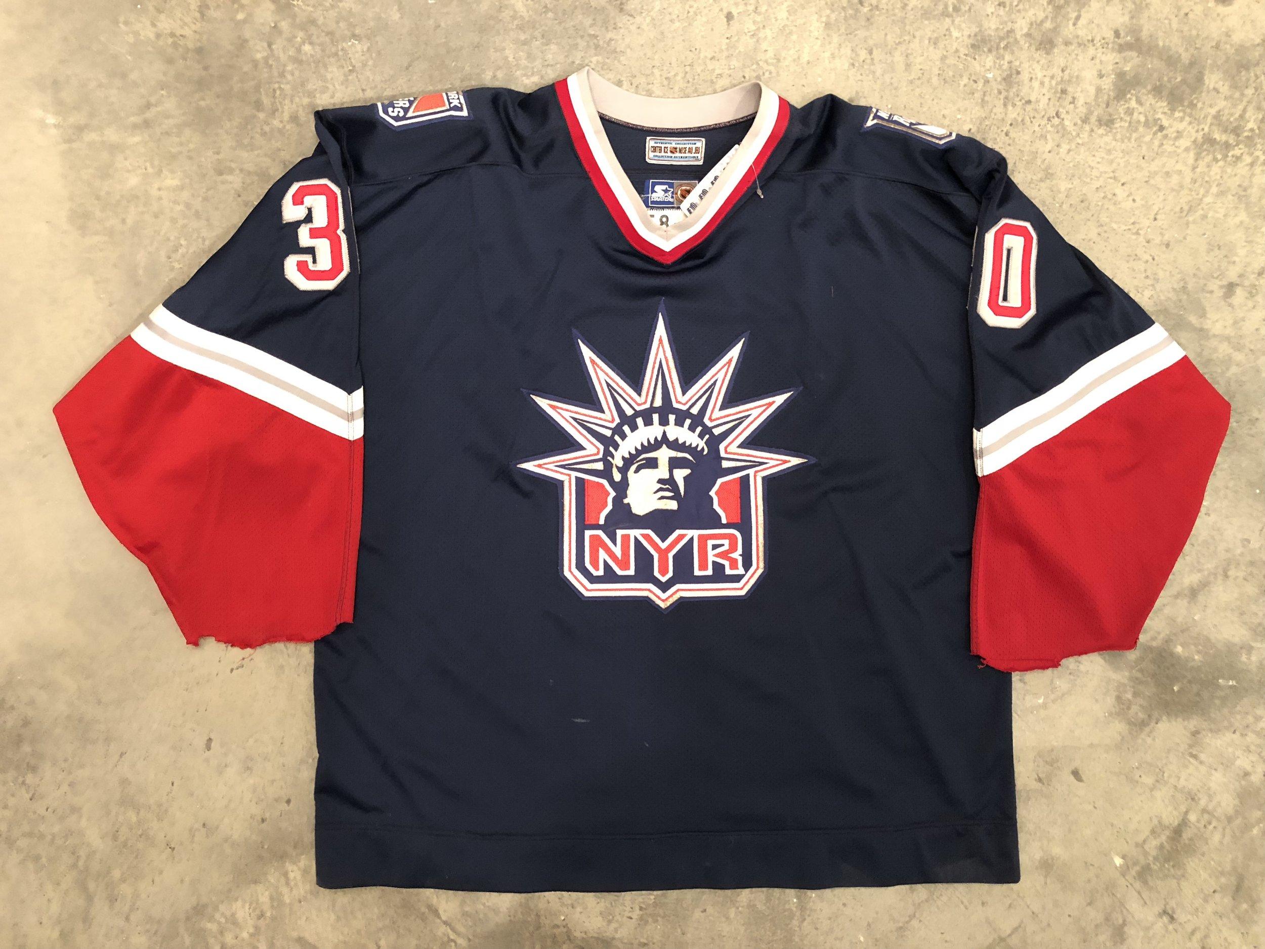 1996-97 Glenn Healy Game Worn Liberty Jersey