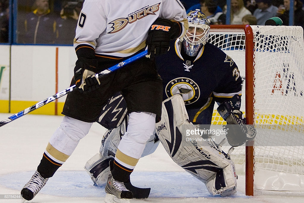 11/21/2008 - Blues vs. Ducks