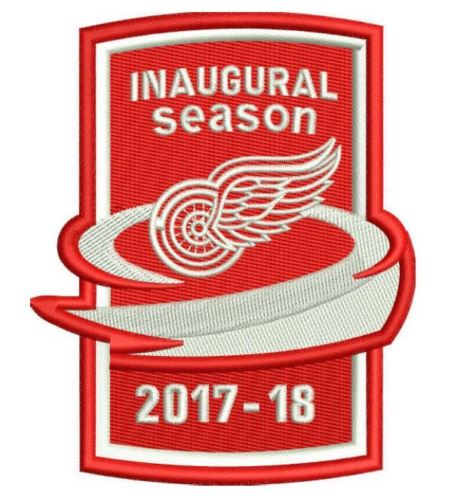 WANTED - Little Ceasars Arena Inaugural Season parch worn during the 2017-18 season