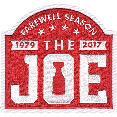 WANTED - Farewell to the Joe patch worn during the 2016-17 season
