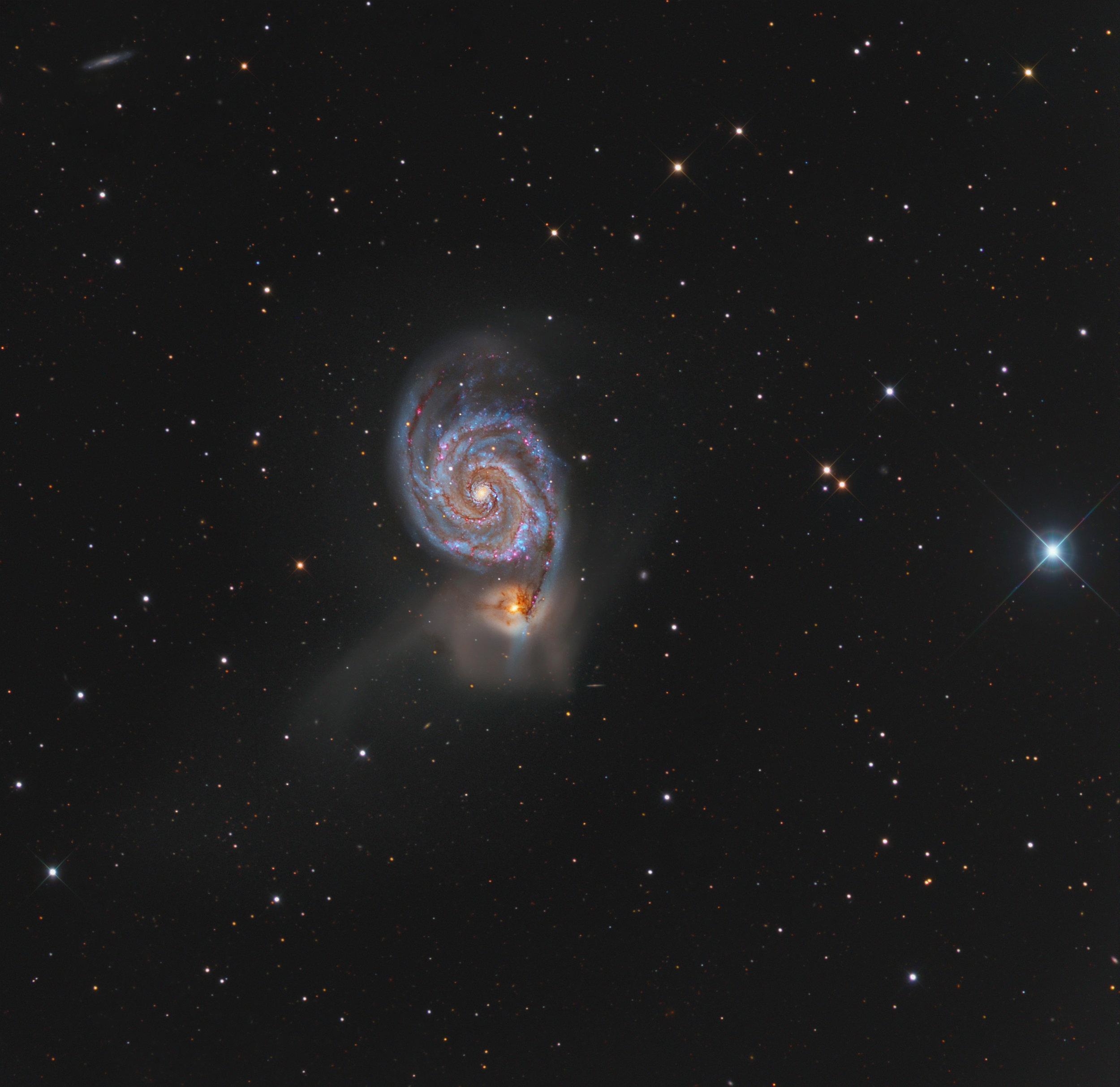 M51 From 14.5RC Rancho Hidalgo