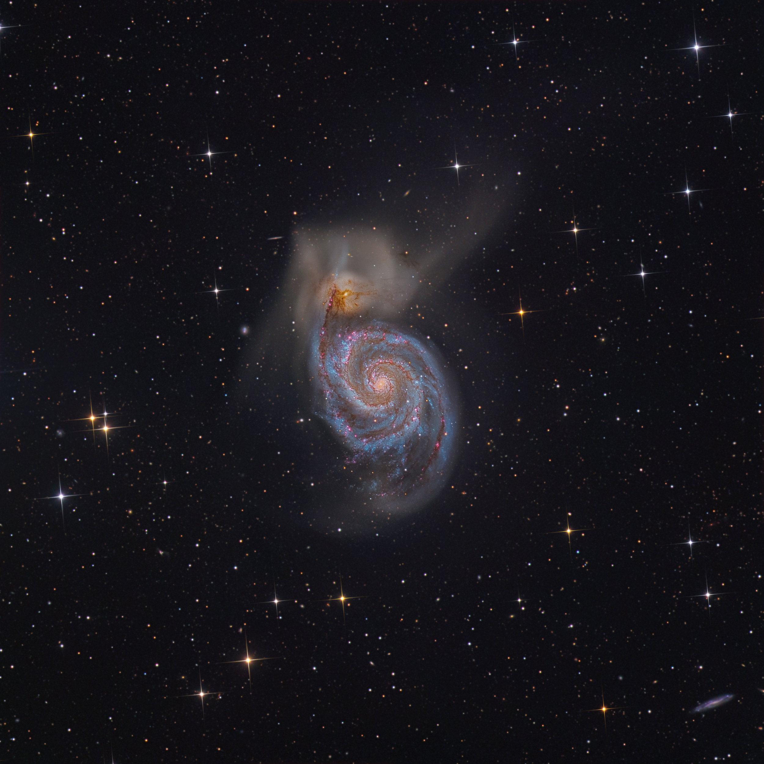 M51 With HA added