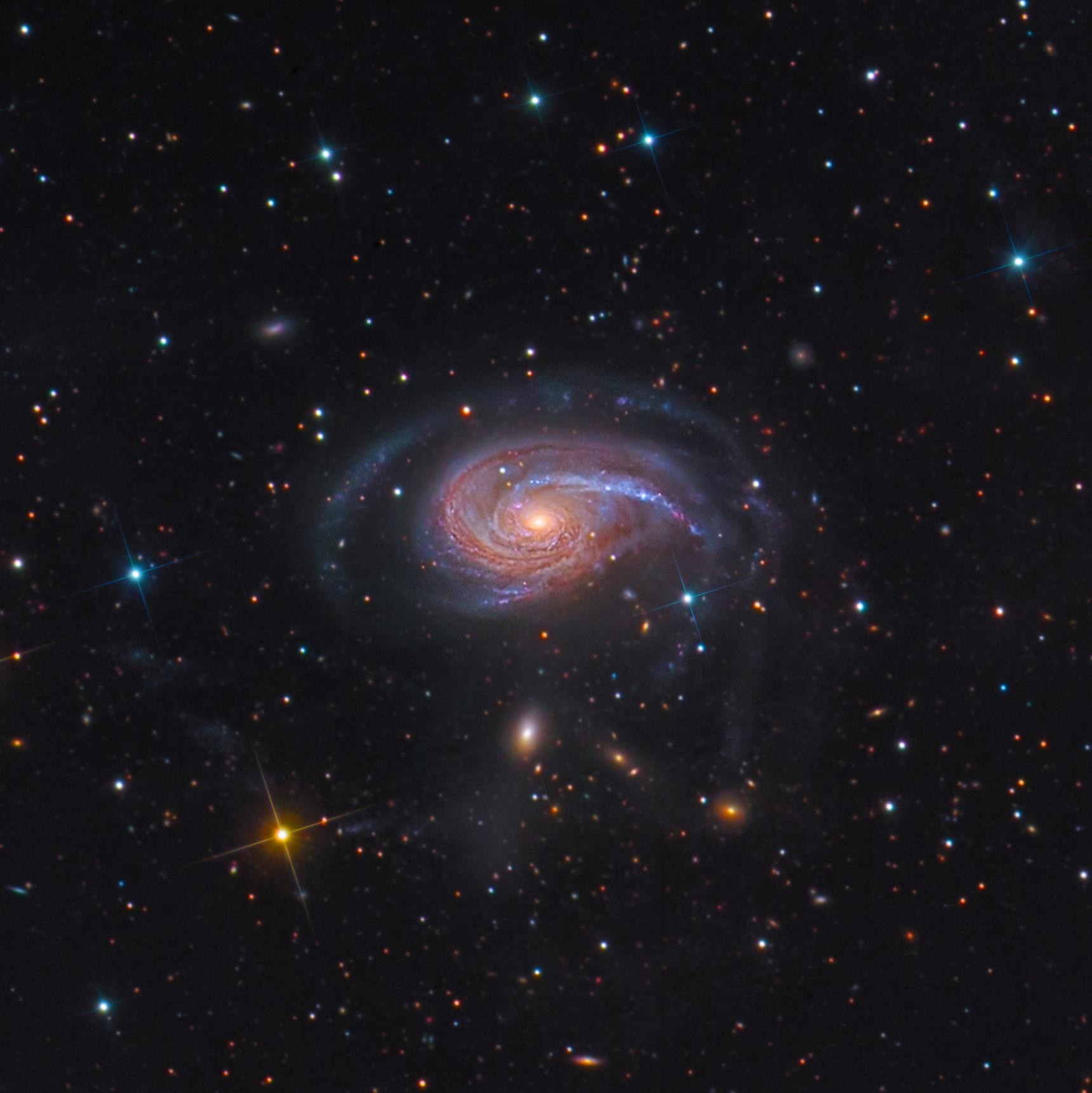 100% crop NGC 772 (Arp 78)