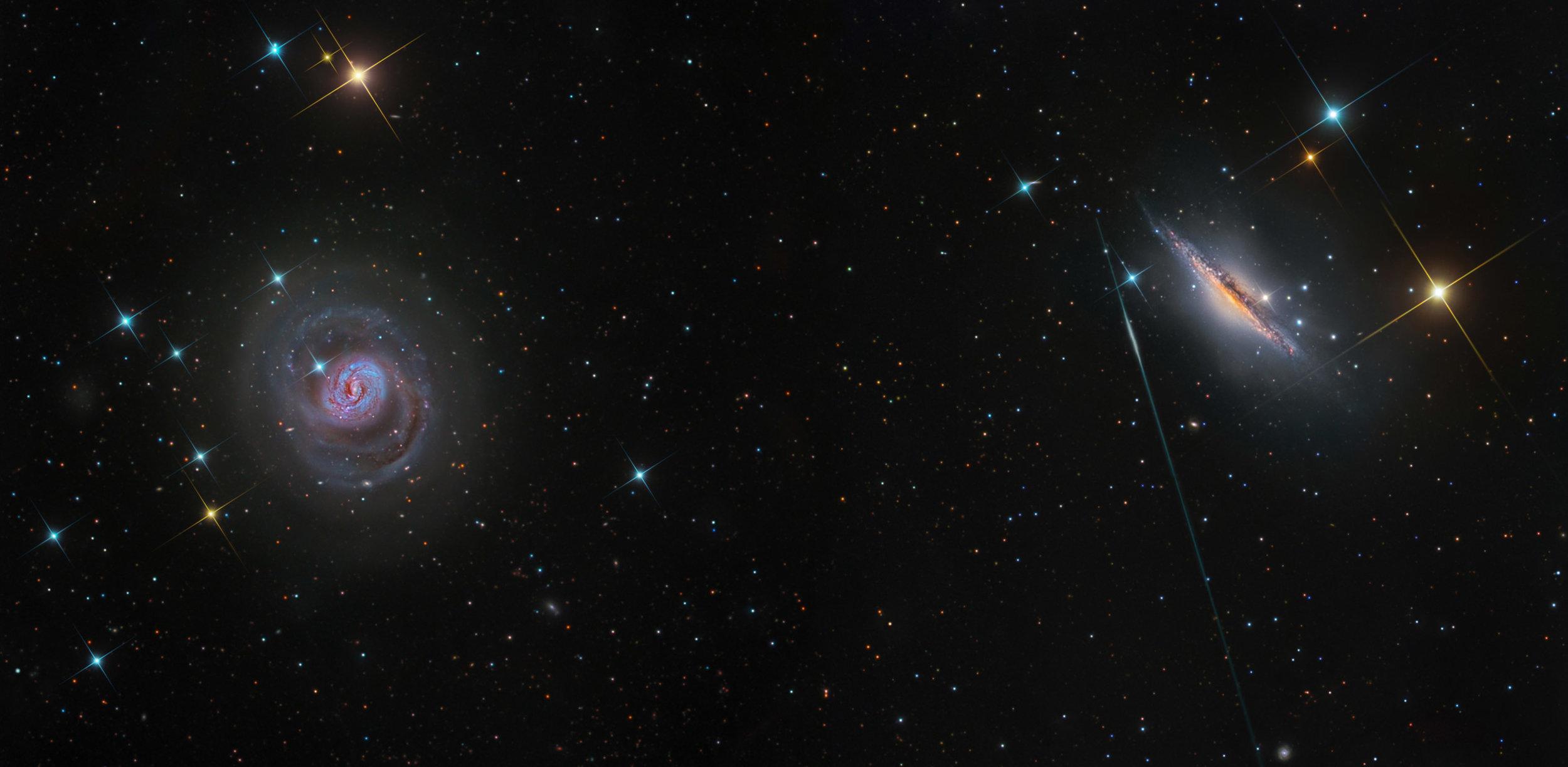 M77 and NGC 1075