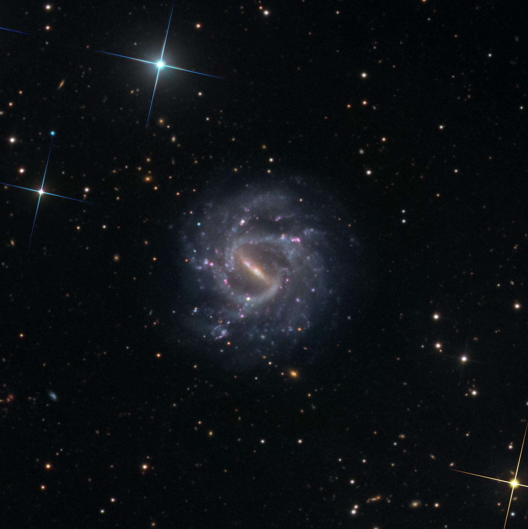 Full Crop of NGC 1073
