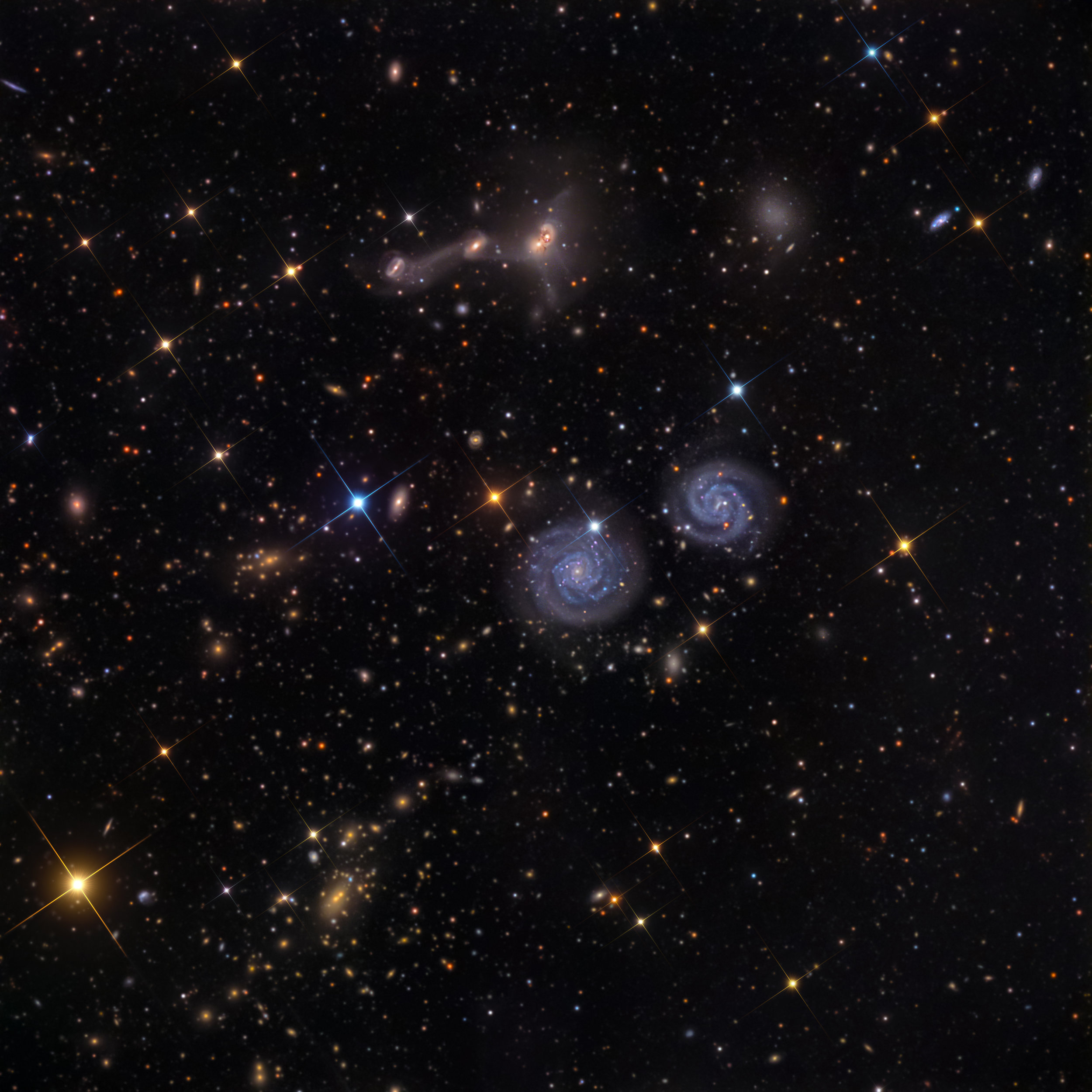 NGC 4410 Group  SWO in New Mexico