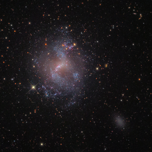 NGC 4214 Dwarf Galaxy