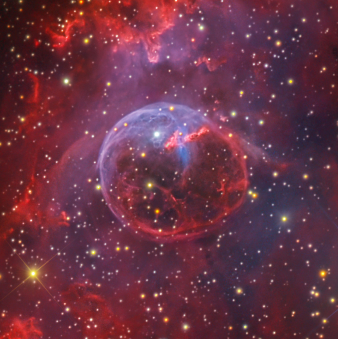 Bubble Nebula - NGC 7635 From GBO