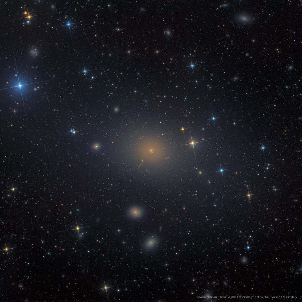 M87- Elliptical Galaxy with Jet