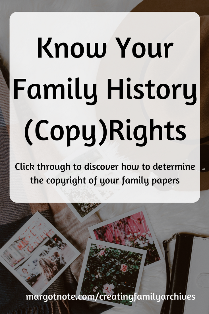 Know Your Family History (Copy)Rights