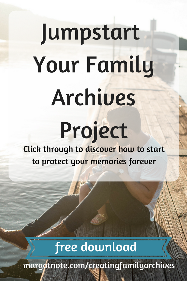 Jumpstart Your Family Archives Project