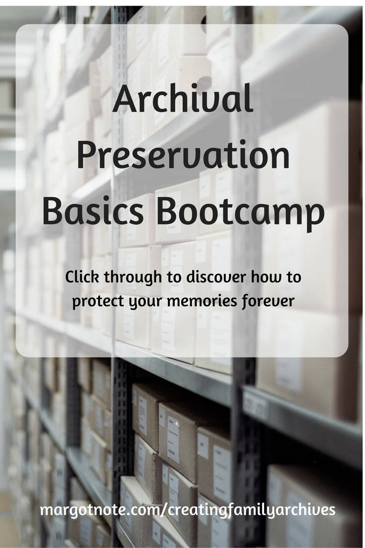 Archival Preservation Basics Bootcamp