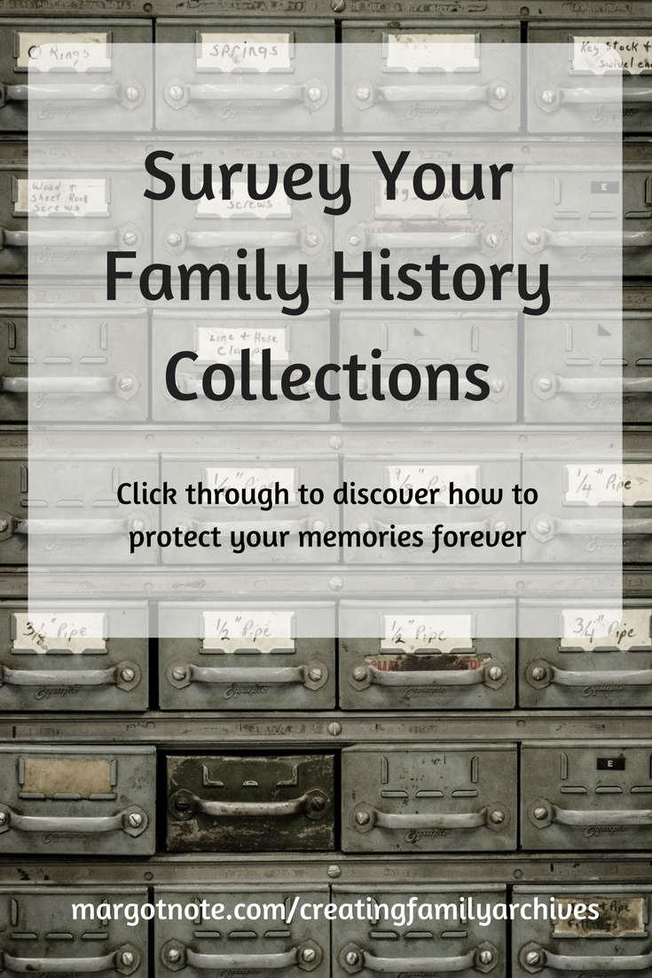 Survey Your Family History Collections