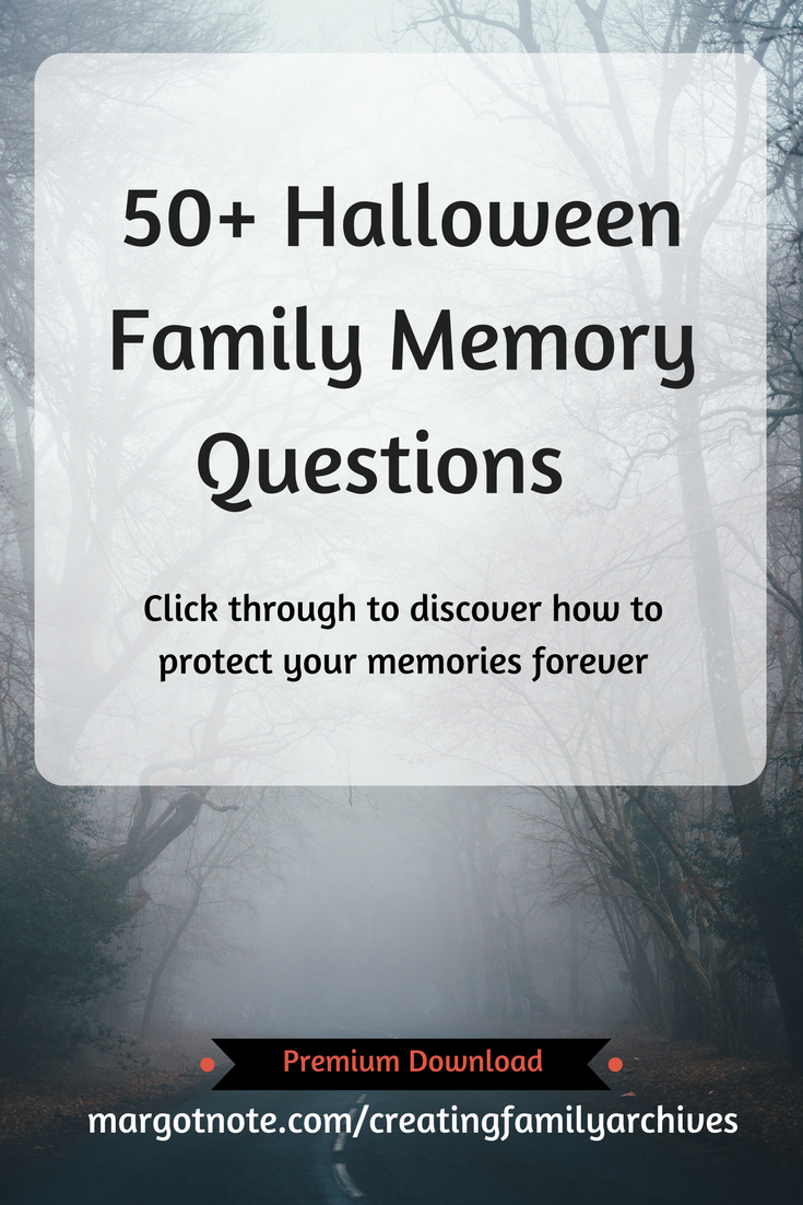 50+ Halloween Family Memory Questions