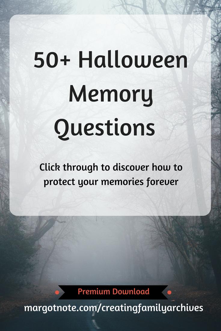 50+ Halloween Memory Questions