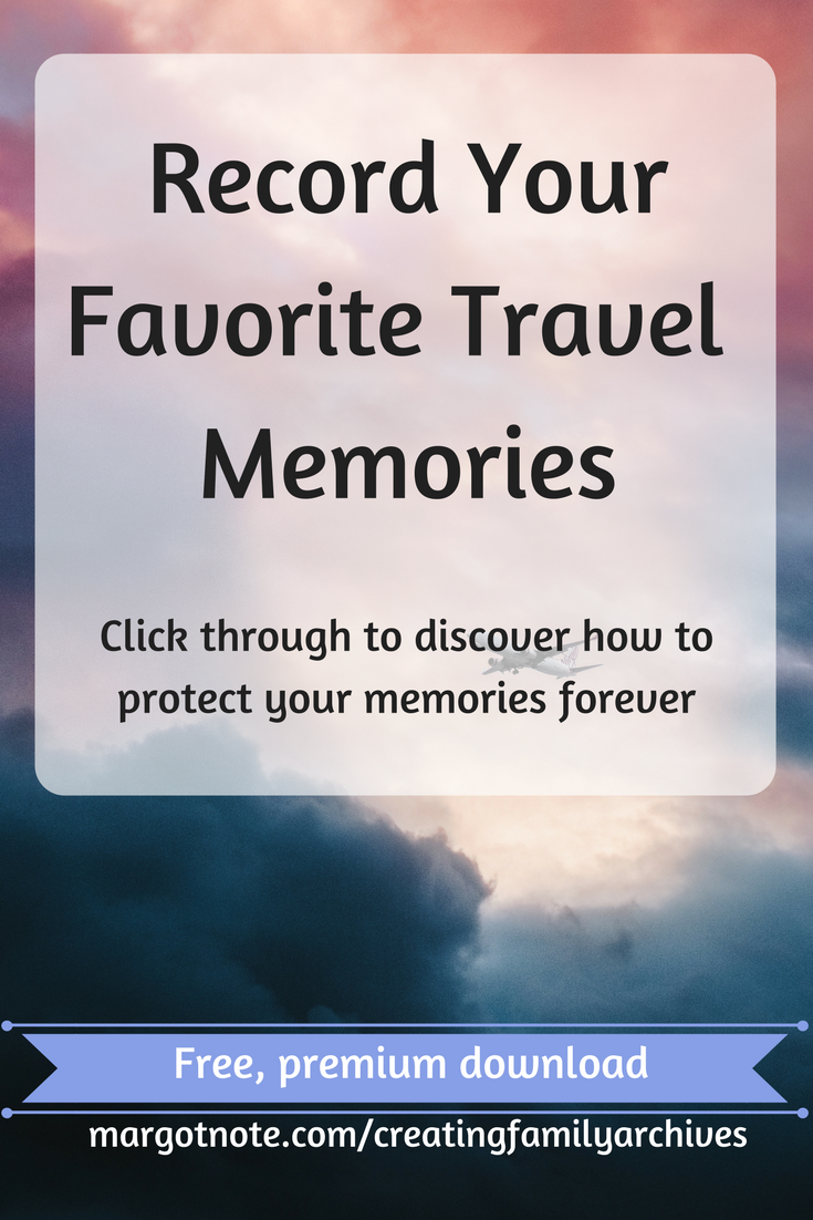 Record Your Favorite Travel Memories