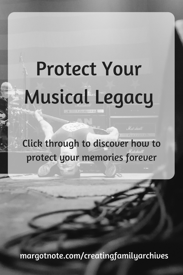 Protect Your Musical Legacy