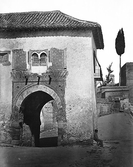 Fig. 5. Clifford, Charles. [The Alhambra, Granada. The Wine Tower]. 1862. Photograph. The Metropolitan Museum of Art, New York.