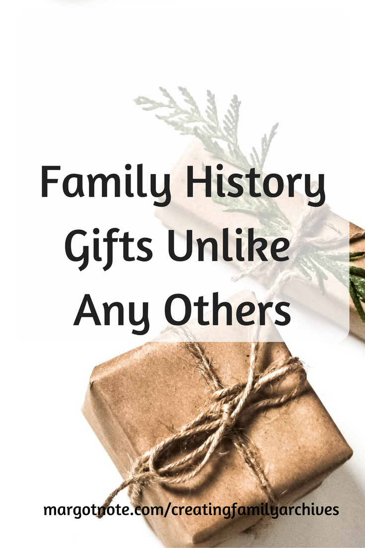 Family History Gifts Unlike Any Others