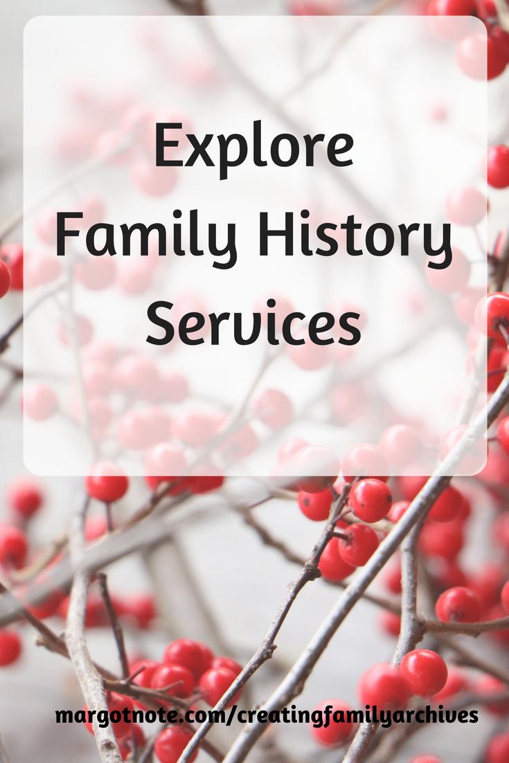 Explore Family History Services