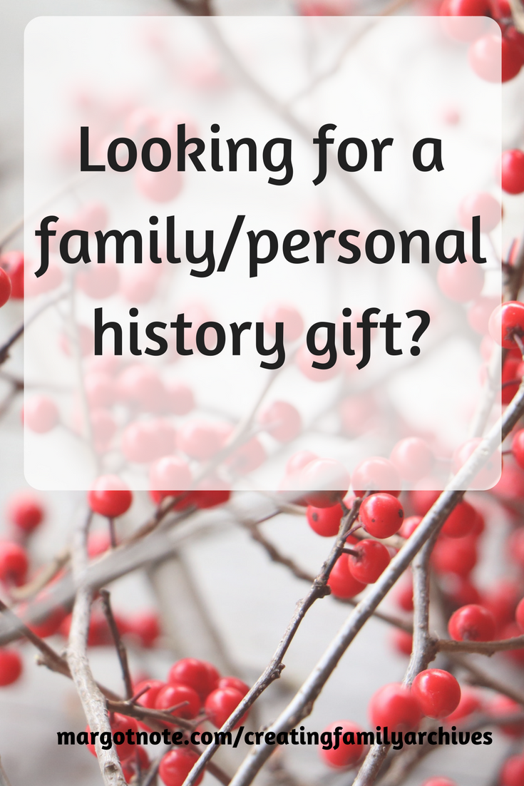 Looking for a family/personal history gift?