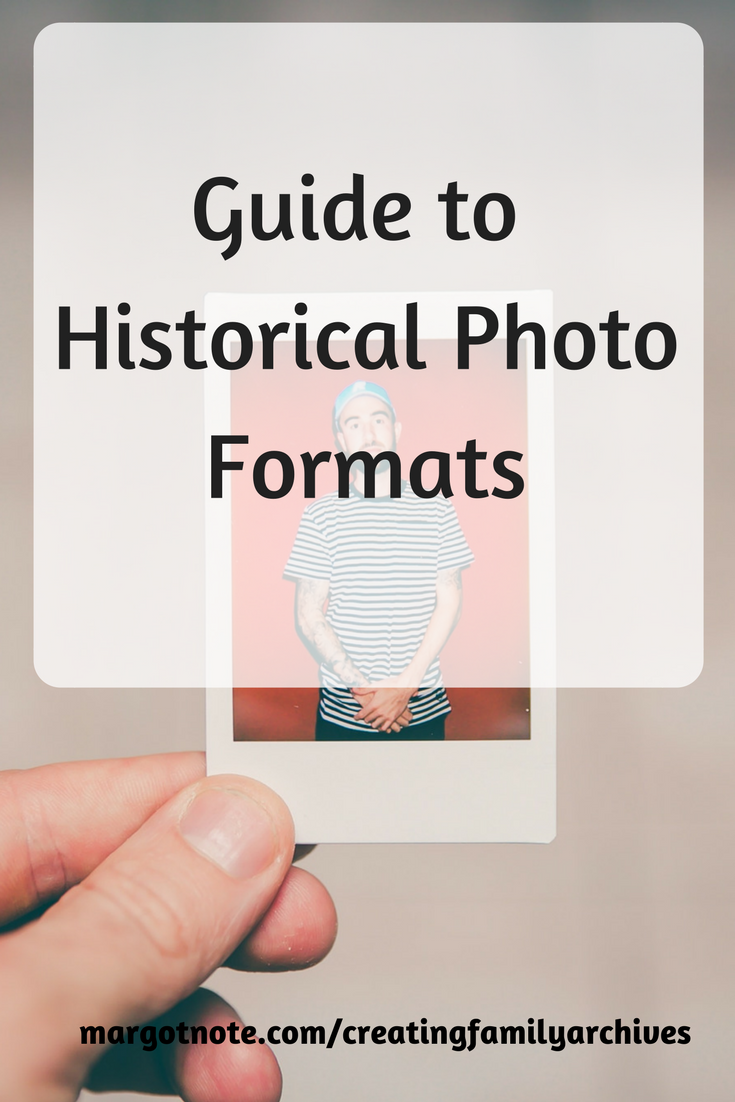 Guide to Historical Photo Formats