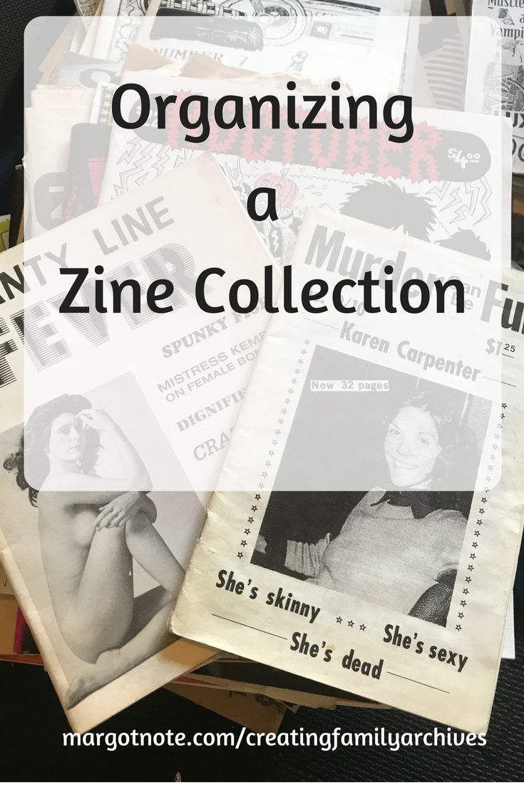 Organizing a Zine Collection