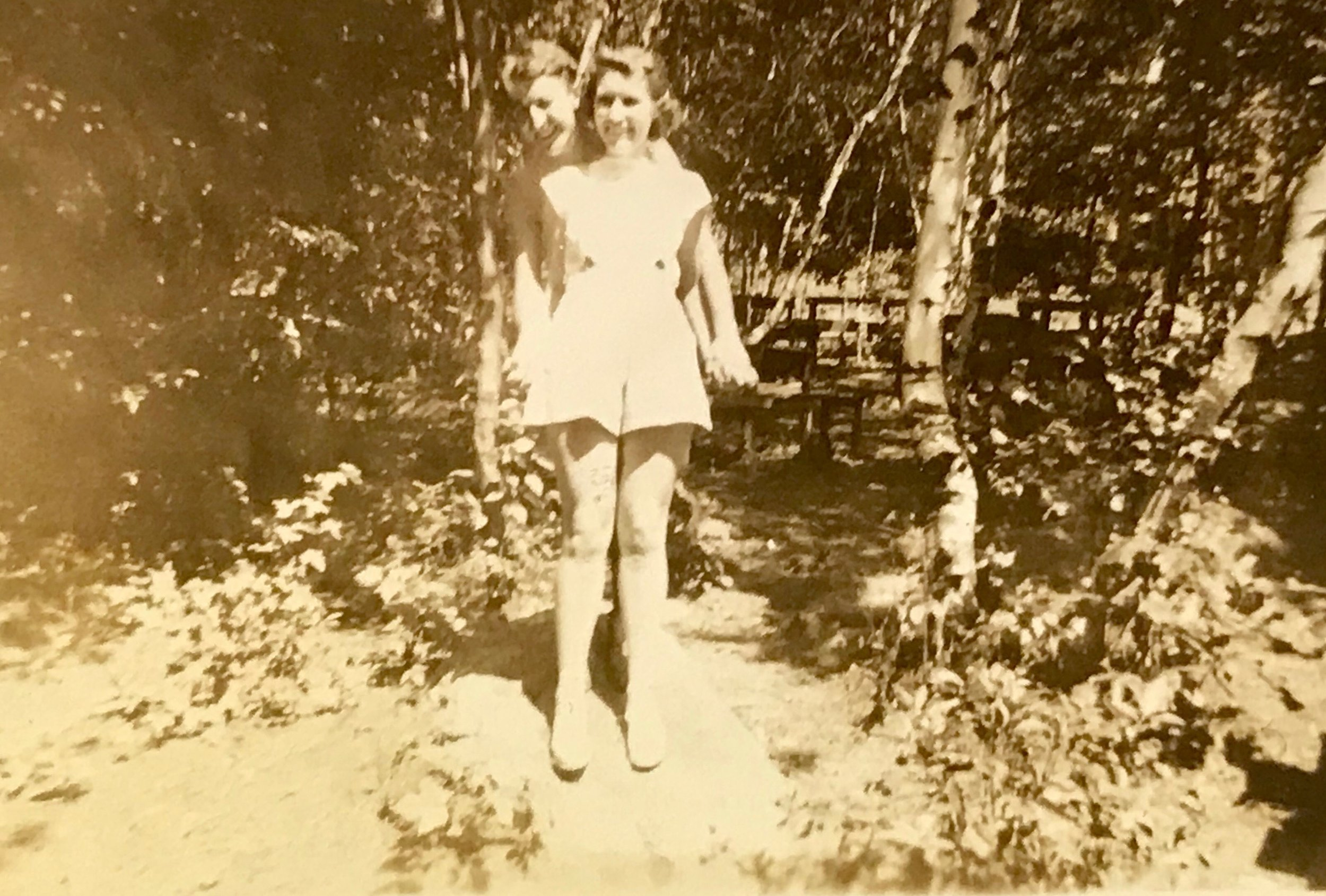 An undated picture of my grandparents from the late 1930s, I believe.