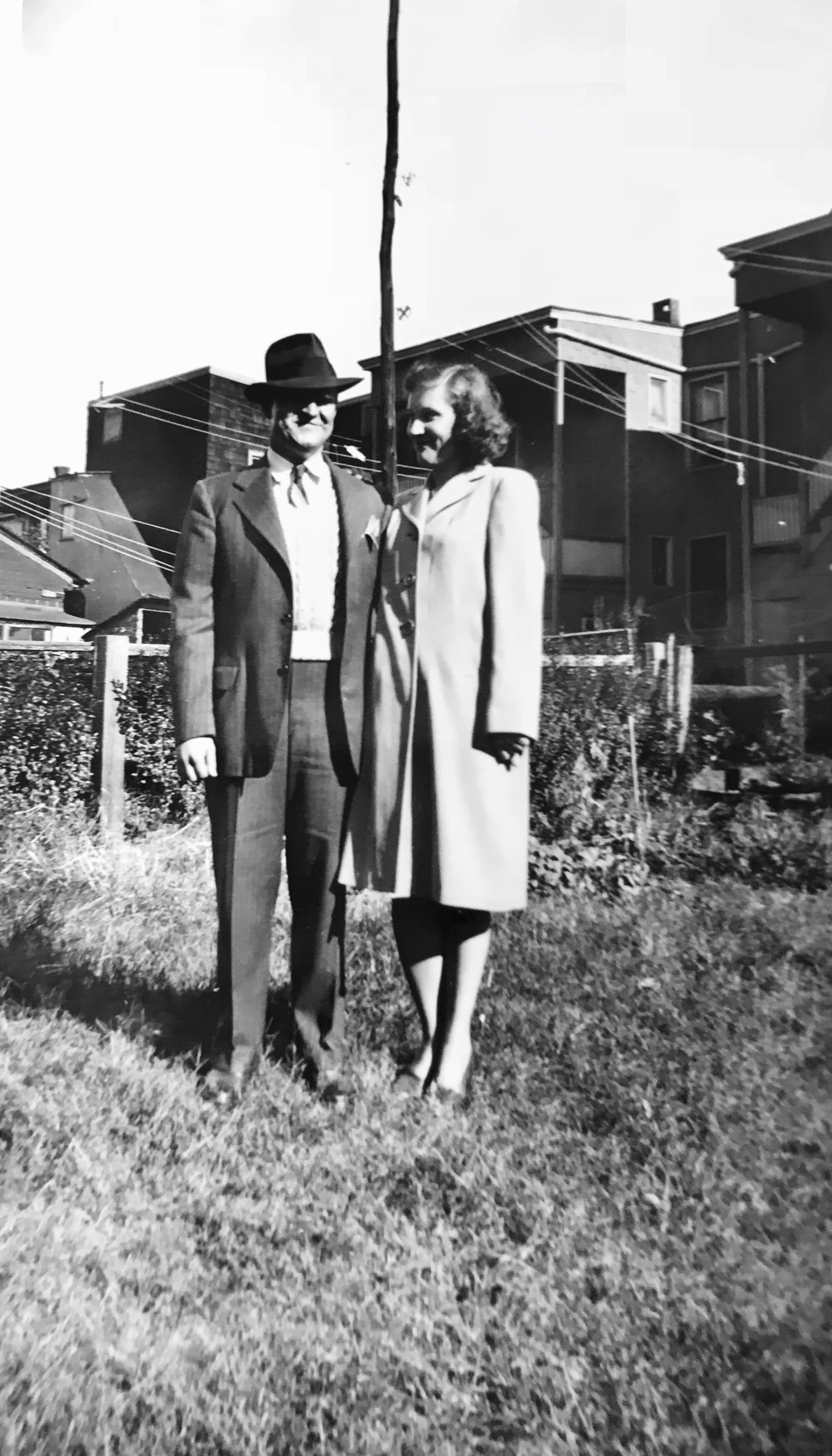 Ray and Ann in an undated photograph