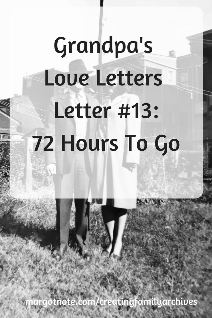 Grandpa's Love Lettersw