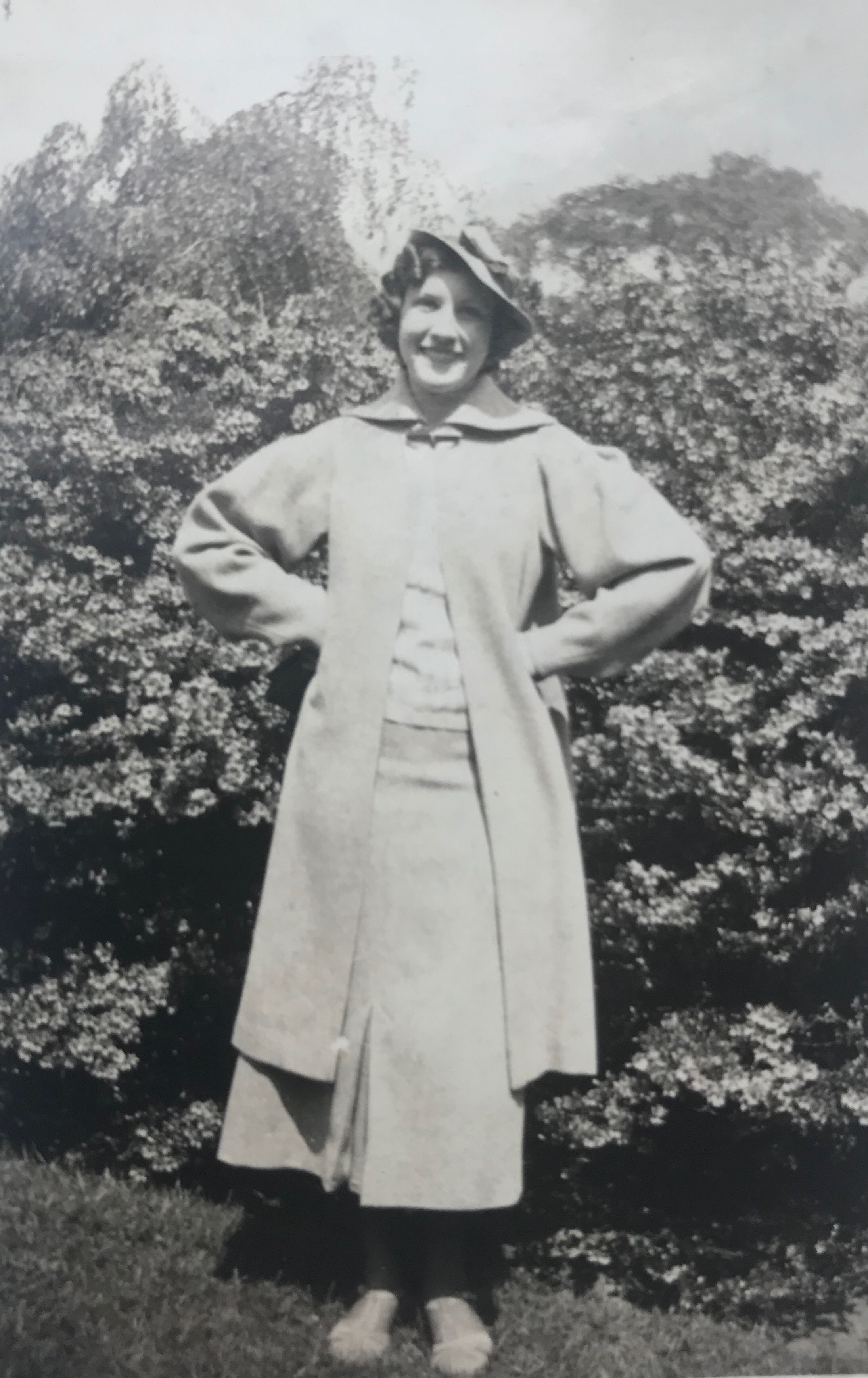 """""""Ann"""" is written on the back. This was taken out of a scrapbook so I date it to be around the mid-1930s."""