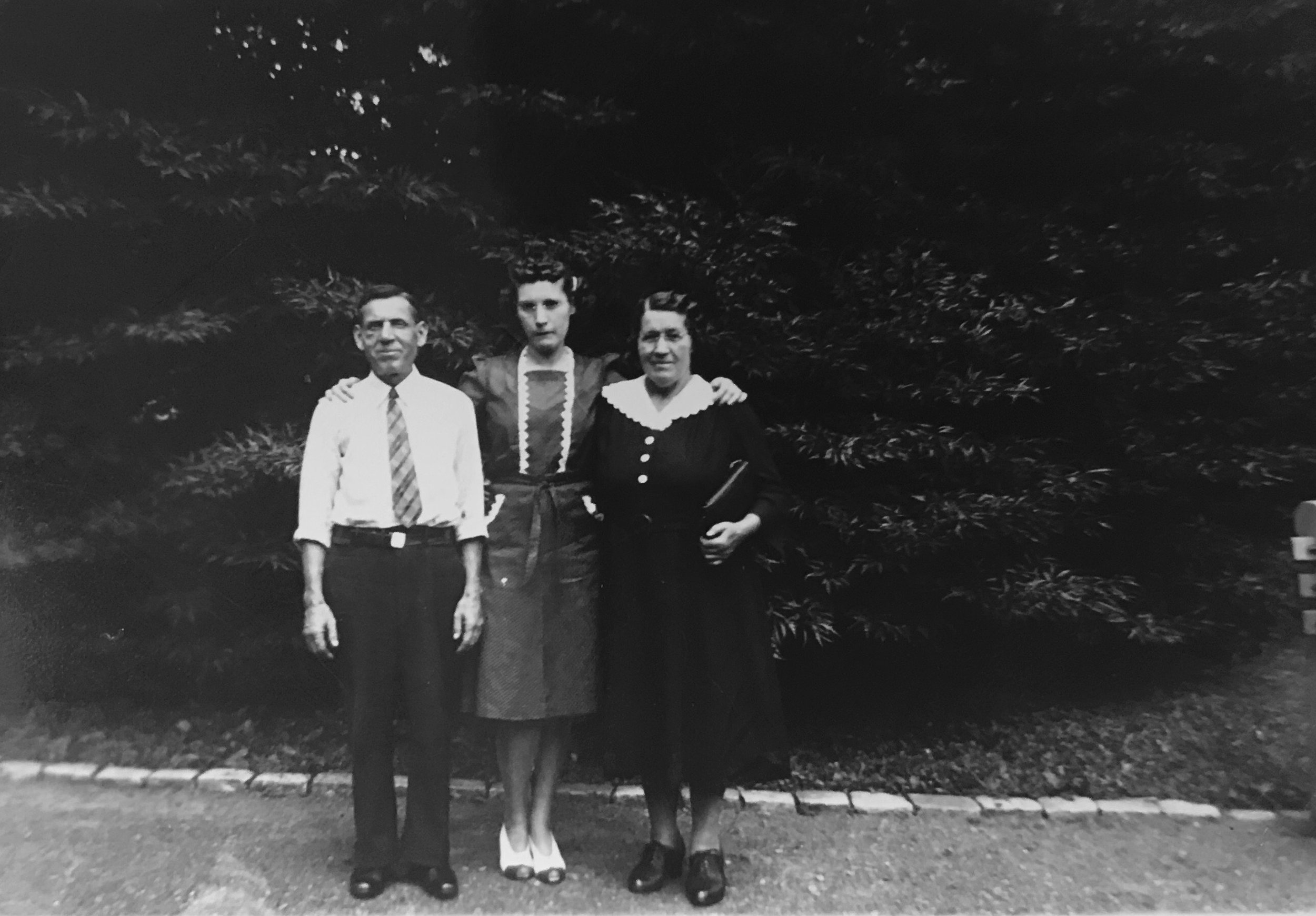 """My grandma wrote """"7/20/41"""" on the back of this photograph."""