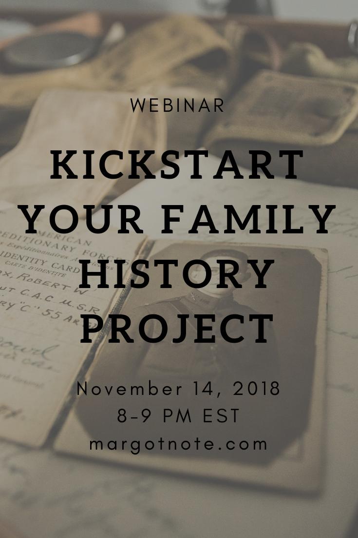 Kickstart Your Family History Project