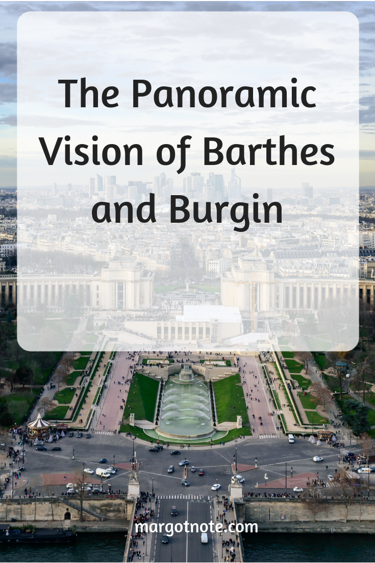 The Panoramic Vision of Barthes and Burgin