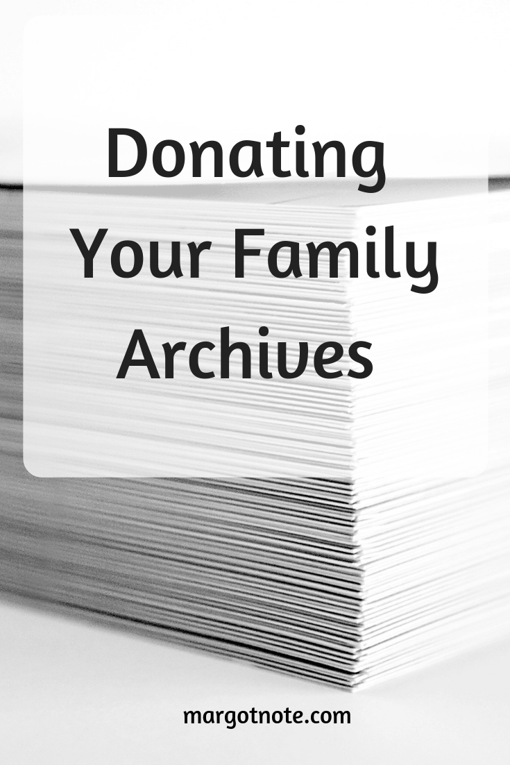 Donating Your Family Archives