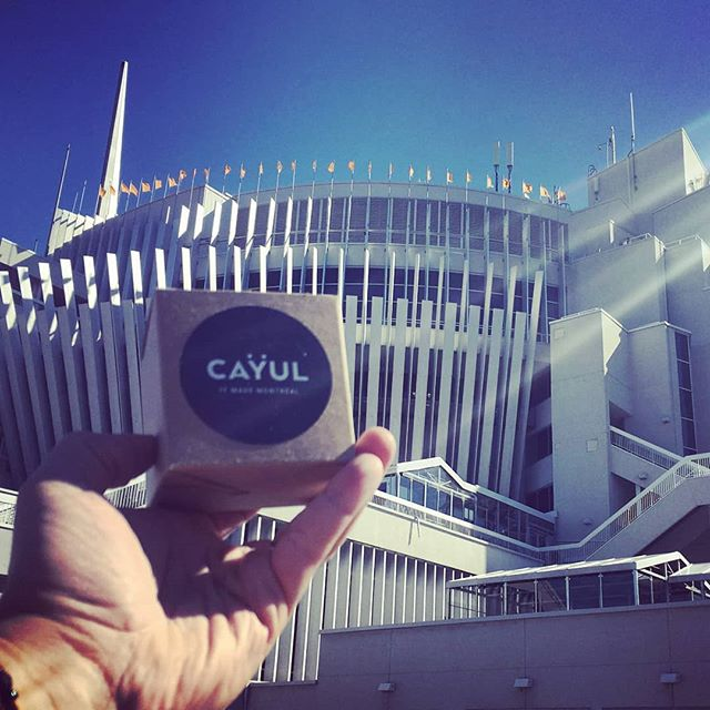You can buy your amazing #cayulmtl at #casinodemontreal !  Thank you for your trust ❤  #cayul #souvenirmtl #amazinggift #montrealheart #montreal #mtl #stone #greystone #tourismemtl #loveisintherock #rockthisworld #pierregrisedemontreal