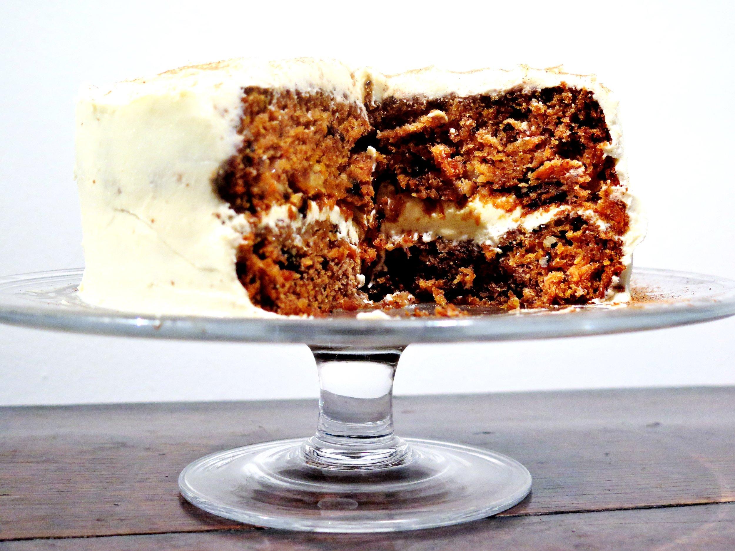 Sumptuous Carrot Cake - Recipe