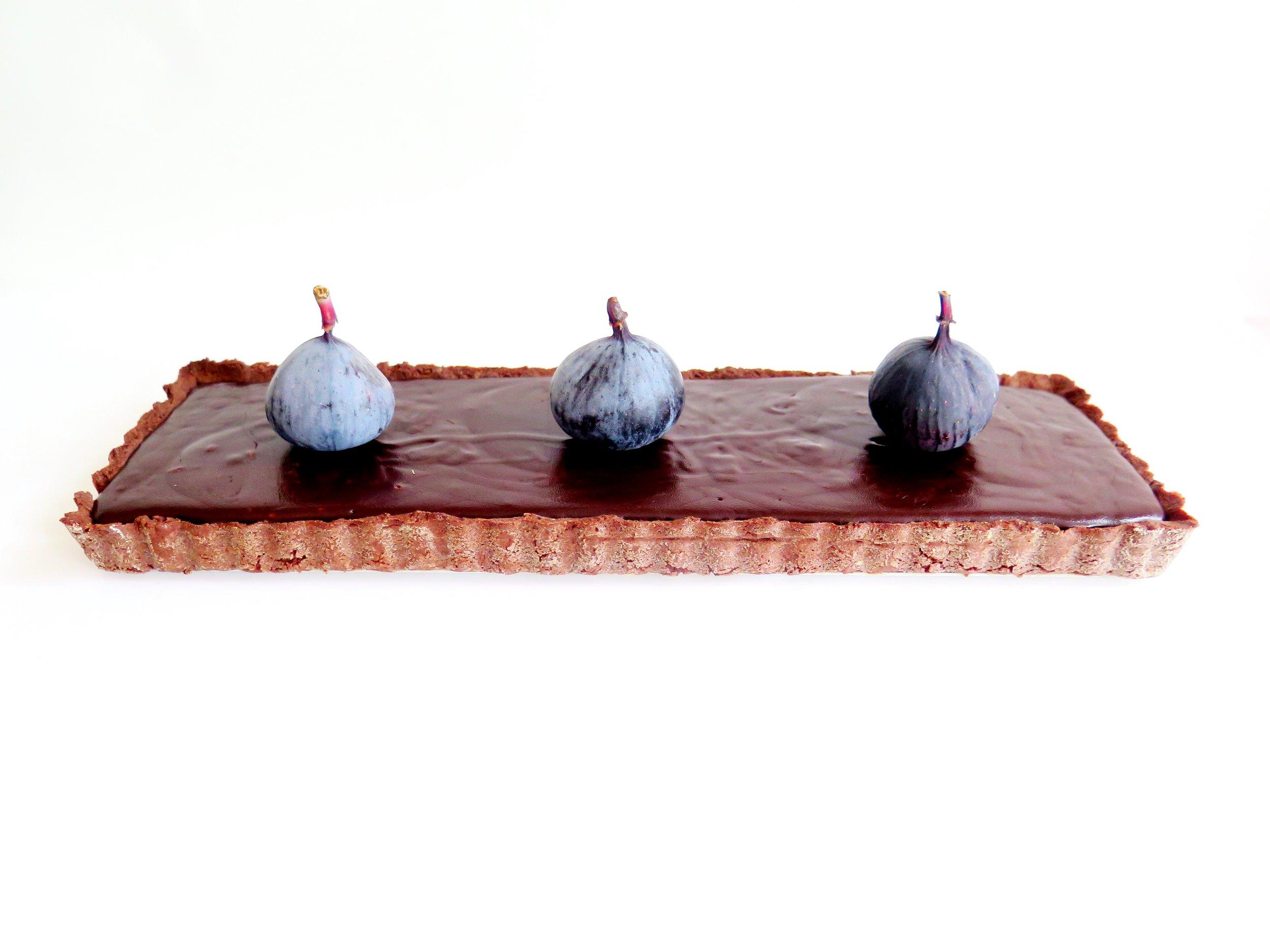 Double Chocolate Salted Caramel Tart