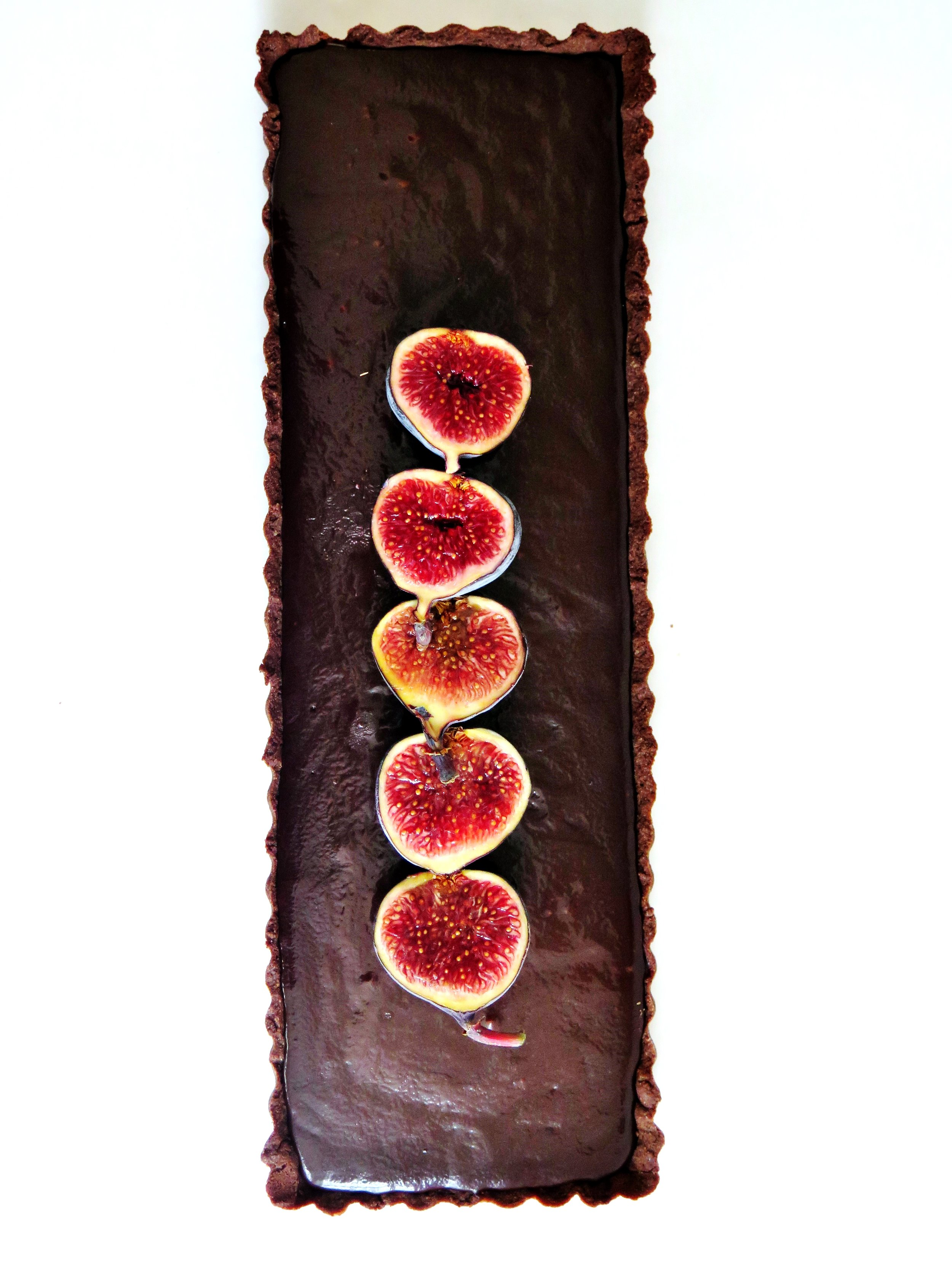 Double Chocolate Salted Caramel Tart