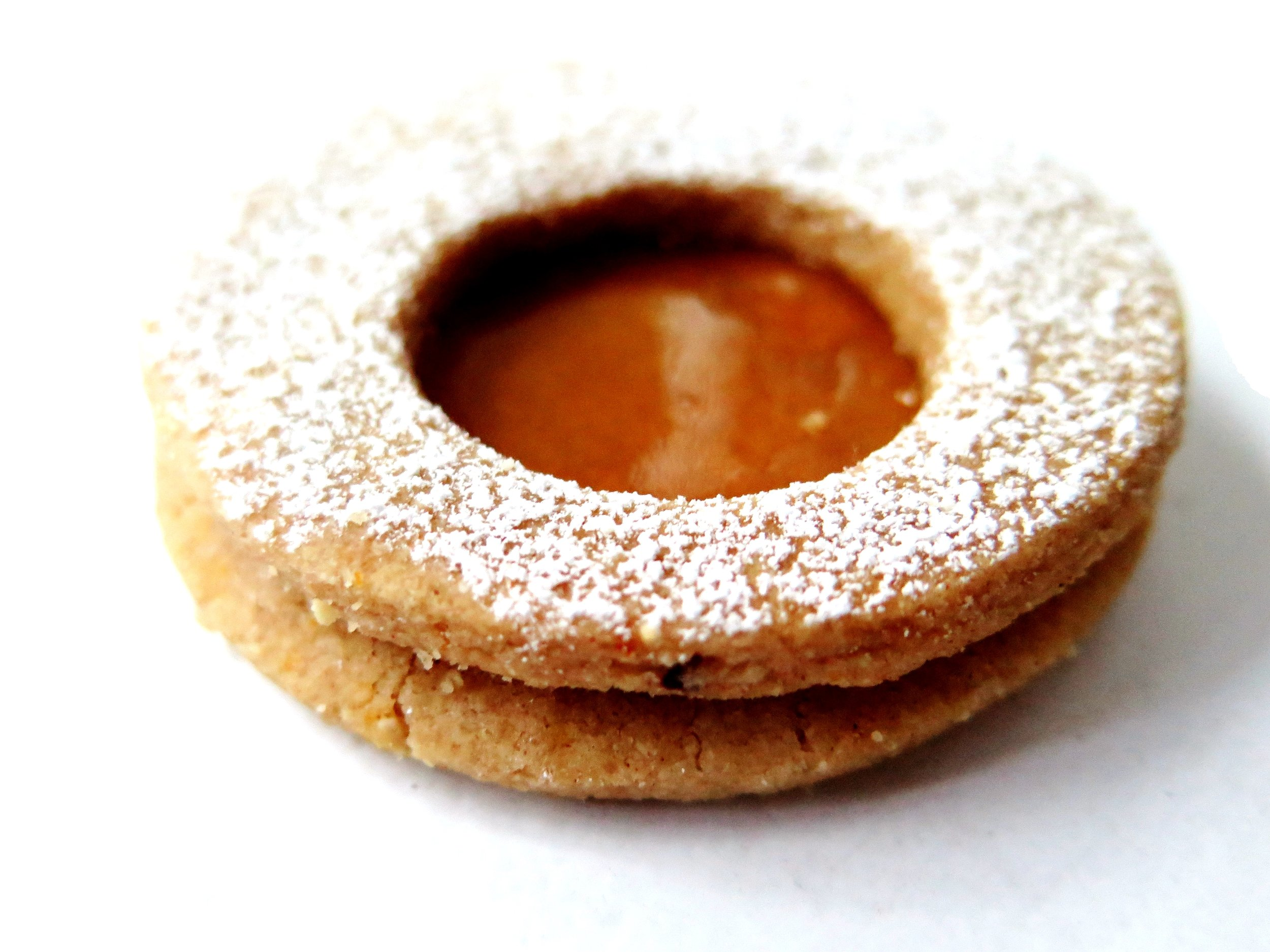 Morroccan Spiced Linzer Jam Cookies